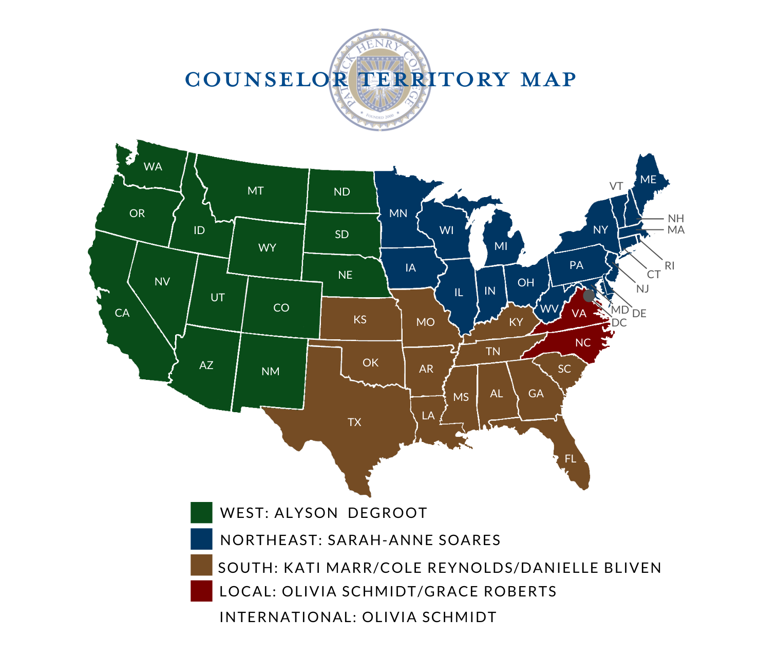 Admissions Counselor Territory Map 20_21