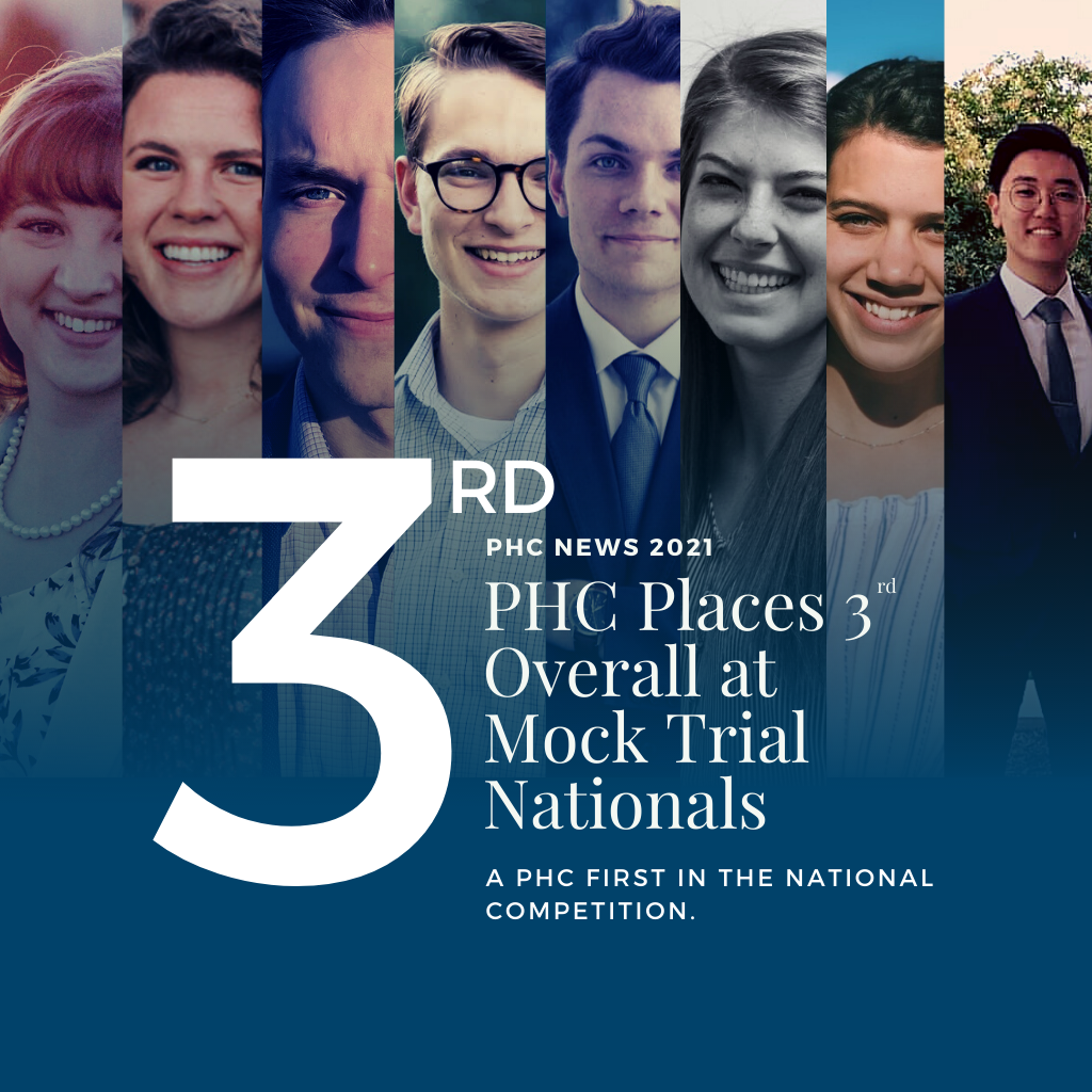 PHC is 3rd Place at 2021 Mock Trial Nationals