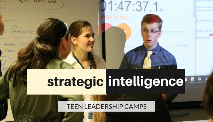 College teen leadership camps are 14