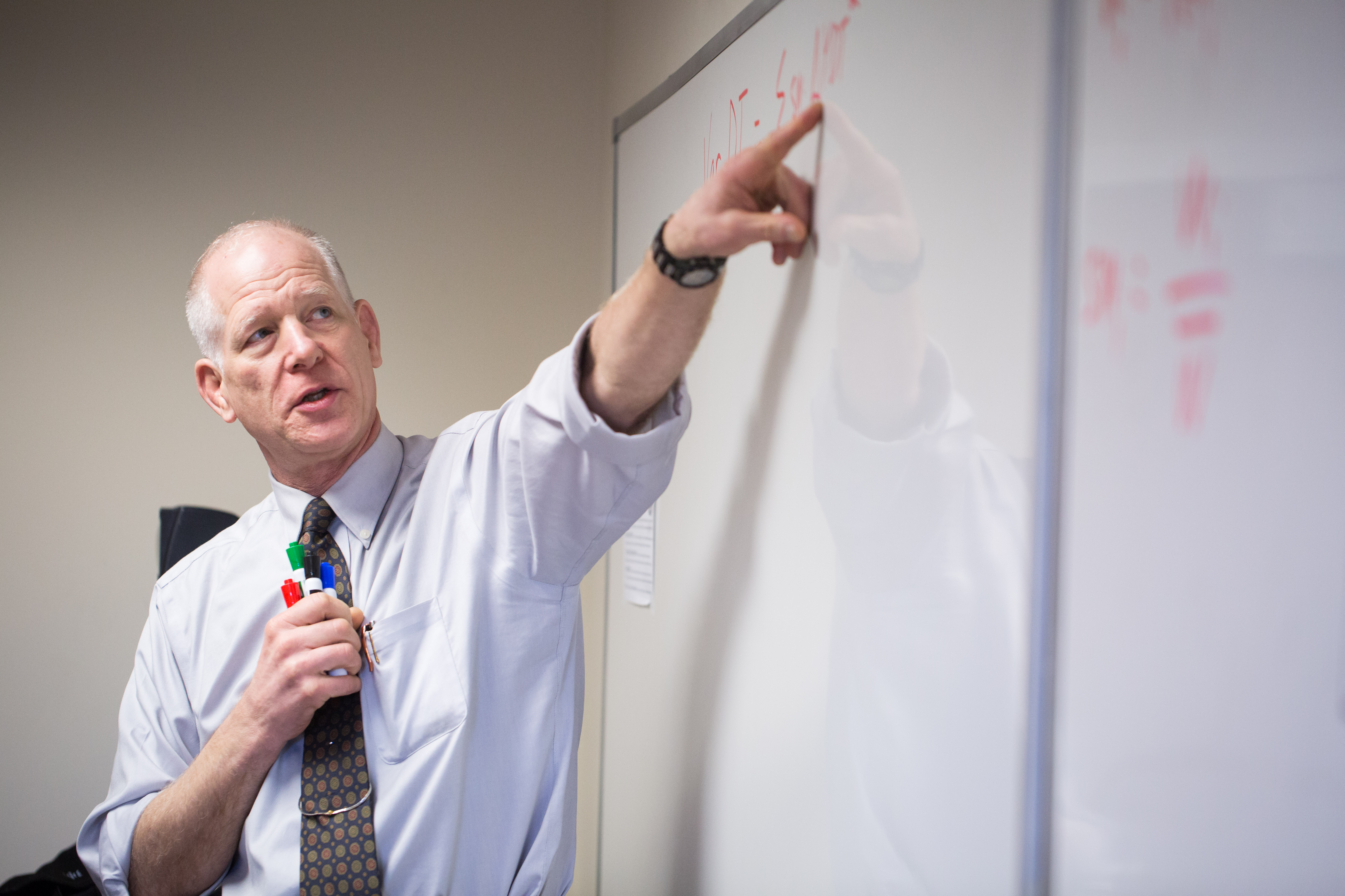 Dr. Mike Kucks teaches Physics at Patrick Henry College, PHC