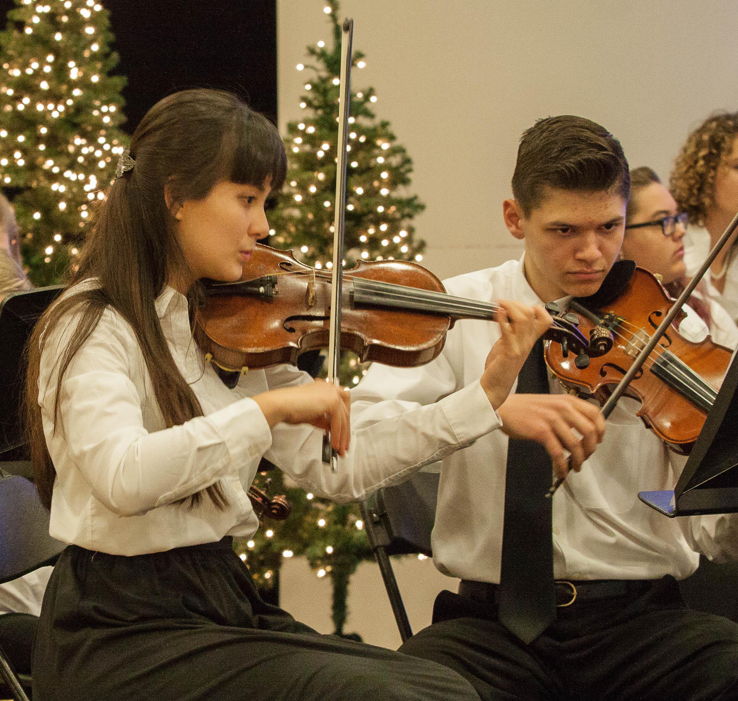 YMA Orchestra Two Violist