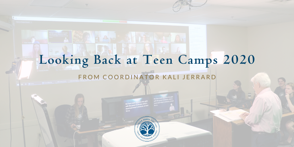 Teen Camps Virtual 2020